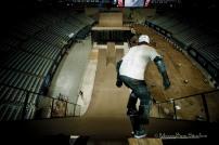 Skateboard Big Air Practice