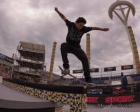 Skateboard Street Practice