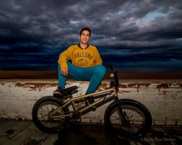 Escape the Rain with Adri go for an Urban BMX shoot