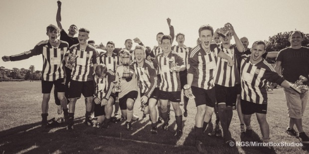 Sholing U18 v Christchurch Hants Div 1 Champions Click image to view Album
