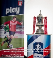 Grassroots Football Awards Hampshire FA 2014 (with FA CUP) Click image to view Album