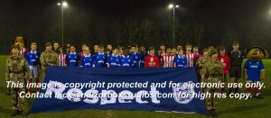 Football Remembers Hampshire FA Portsmouth vs Southampton 9th December 2014