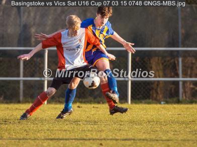Basingstoke vs Vics