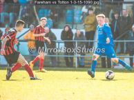Fareham vs Totton 1-3-15-1090