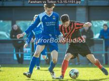Fareham vs Totton 1-3-15-1151