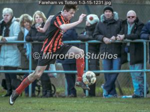 Fareham Town vs AFC Totton U16 Cup Final Click Image to view Album