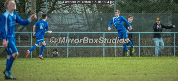 Fareham vs Totton 1-3-15-1304