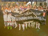 H&W Youth vs Salisbury