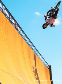 Austin, TX - June 3, 2015 - Circuit of The Americas: BMX Vert at X Games Austin 2015.(Photo by Nick Guise-Smith/ ESPN Images)