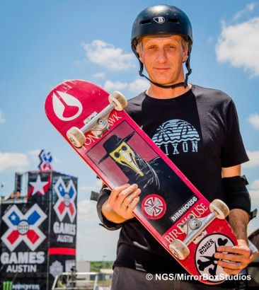 Austin, TX - June 3, 2015 - Tony Hawk during practice for Skateboard Vert at X Games Austin 2015.(Photo by Nick Guise-Smith / ESPN Images)