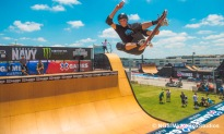 Austin, TX - June 3, 2015 - Downtown: XXXXX during practice for Skateboard Vert at X Games Austin 2015. (Photo by Nick Guise-Smith / ESPN Images)