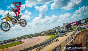 Austin, TX - June 6, 2015 - Downtown: Mike Mason during practice for Moto X Speed & Style at X Games Austin 2015. (Photo by Nick Guise-Smith / ESPN Images)