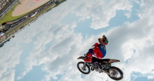 Austin, TX - June 6, 2015 - Downtown: Adam Jones during practice for Moto X Speed & Style at X Games Austin 2015. (Photo by Nick Guise-Smith / ESPN Images)