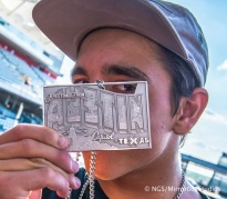 Austin, TX - June 6, 2015 - Circuit of The Americas: Alex Midler competing in Skateboard Street Amateurs Final during X Games Austin 2015. (Photo by XXXXX / ESPN Images)