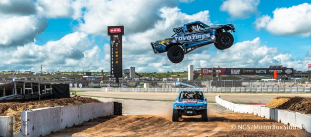 Austin, TX - June 7, 2015 - Off Road Truck during practice for Off Road Truck Racing at X Games Austin 2015.(Photo by Nick Guise-Smith / ESPN Images)