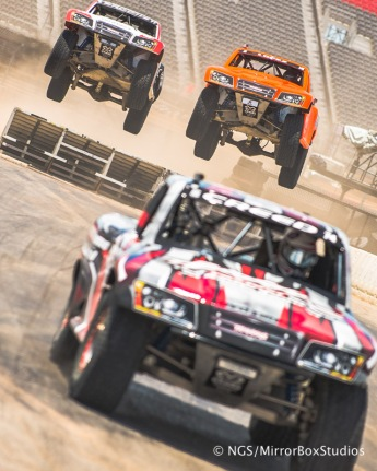 Austin, TX - June 7, 2015 - Downtown: XXXXX competing in Rally Car Racing Final at X Games Austin 2015. (Photo by Nick Guise-Smith / ESPN Images)