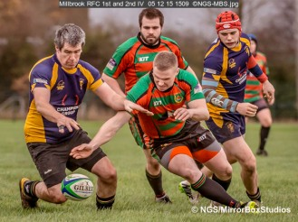 Millbrook RFC 1st and 2nd IV, 05/12/2015, , , Hampshire, England
