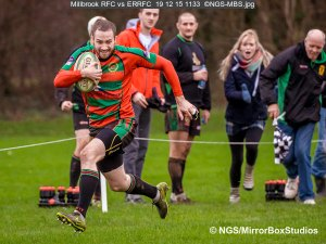 Millbrook RFC vs ERRFC, 19/12/2015, , , Hampshire, England