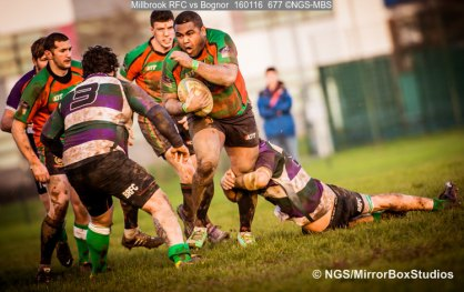 Millbrook RFC vs Bognor