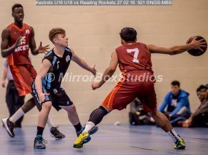 Kestrels U16 U18
