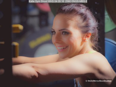 Katie Gym Shoot