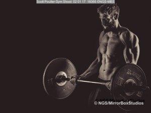 Scott Poulter Gym Shoot
