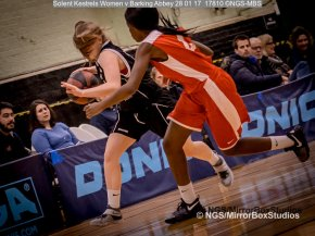 Solent Kestrels WNBL Division 1 - 28 January, 2017 - St Marys Leisure Cent. : Chloe Lammas during match against Barking Abbey (Photo by NGS/MirrorBoxStudios)