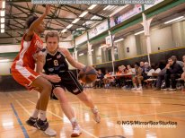 Solent Kestrels WNBL Division 1 - 28 January, 2017 - St Marys Leisure Cent. : Megan Jenkins during match against Barking Abbey (Photo by NGS/MirrorBoxStudios)