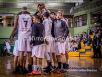 Solent Kestrels NBL Division 1 - 5 February, 2017 - Fleming Park Leisure Cent. : Team Spirit during match against Bradford Dragons (Photo by NGS/MirrorBoxStudios)