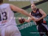 Solent Kestrels NBL Division 1 - 5 February, 2017 - Fleming Park Leisure Cent. : Bradford Dragons on the attack (Photo by NGS/MirrorBoxStudios)