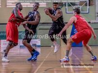 England Basketball, NBL Division 1 - 11 February, 2017 - Fleming Park Leisure Cent. : Jorge Ebanks (8) during match between Solent Kestrels and Reading Rockets (Photo by NGS/MirrorBoxStudios)