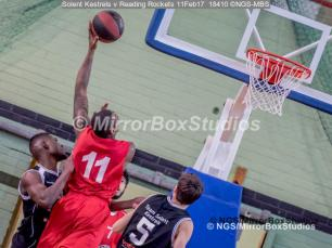 England Basketball, NBL Division 1 - 11 February, 2017 - Fleming Park Leisure Cent. : Christopher Hooper (11) during match between Solent Kestrels v and Reading Rockets (Photo by NGS/MirrorBoxStudios)