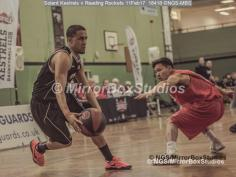 England Basketball, NBL Division 1 - 11 February, 2017 - Fleming Park Leisure Cent. : Caylin Raftopolous (4) during match between Solent Kestrels and Reading Rockets (Photo by NGS/MirrorBoxStudios)