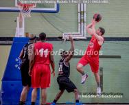 England Basketball, NBL Division 1 - 11 February, 2017 - Fleming Park Leisure Cent. : Daniel Carter (13) during match between Solent Kestrels and Reading Rockets (Photo by NGS/MirrorBoxStudios)