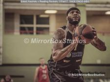 England Basketball, NBL Division 1 - 11 February, 2017 - Fleming Park Leisure Cent. : Marquis Mathis during match between Solent Kestrels and Reading Rockets (Photo by NGS/MirrorBoxStudios)
