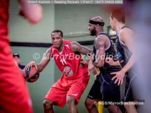 England Basketball, NBL Division 1 - 11 February, 2017 - Fleming Park Leisure Cent. : Christopher Hooper (11) during match between Solent Kestrels and Reading Rockets (Photo by NGS/MirrorBoxStudios)