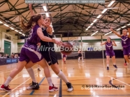 WNBL Division 1 - 18 February, 2017 - St Marys Leisure Cent. : Kalina Axentieva (6) defending during match between Solent Kestrels Women and Charnwood CR (Photo by NGS/MirrorBoxStudios)