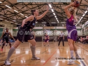 WNBL Division 1 - 18 February, 2017 - St Marys Leisure Cent. : K McDavid (15) during match between Solent Kestrels Women and Charnwood CR (Photo by NGS/MirrorBoxStudios)