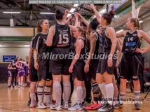 WNBL Division 1 - 18 February, 2017 - St Marys Leisure Cent. : Solent Team Spirit during match between Solent Kestrels Women and Charnwood CR (Photo by NGS/MirrorBoxStudios)