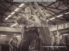 WNBL Division 1 - 18 February, 2017 - St Marys Leisure Cent. : Inga Mucinlece (15) during match between Solent Kestrels Women and Charnwood CR (Photo by NGS/MirrorBoxStudios)