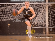 WNBL Division 1 - 18 February, 2017 - St Marys Leisure Cent. : Jodi Jerram (5) driving up court during match between Solent Kestrels Women and Charnwood CR (Photo by NGS/MirrorBoxStudios)