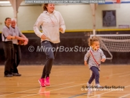 WNBL Division 1 - 18 February, 2017 - St Marys Leisure Cent. : Court invasion during 1/4 time in the match between Solent Kestrels Women and Charnwood CR (Photo by NGS/MirrorBoxStudios)