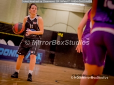WNBL Division 1 - 18 February, 2017 - St Marys Leisure Cent. : Silvia Cante (11) looking for the killer pass during match between Solent Kestrels Women and Charnwood CR (Photo by NGS/MirrorBoxStudios)