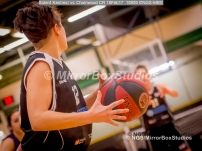 WNBL Division 1 - 18 February, 2017 - St Marys Leisure Cent. : Silvia Cagglari (12) during match between Solent Kestrels Women and Charnwood CR (Photo by NGS/MirrorBoxStudios)