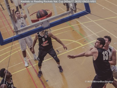 Kestrels vs Reading Rockets