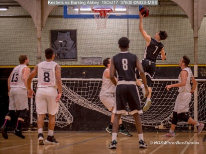 Kestrels vs Barking Abbey