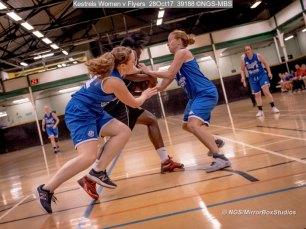 Kestrels Women v Flyers