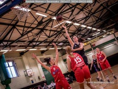 Kestrels Women v Sevenoaks