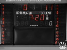 Solent Kestrels vs Northumbria