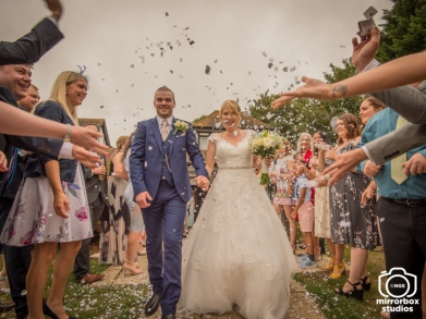 Katy & Mike 11 08 2018 Wedding Day : (Photo by Nick Guise-Smith / MirrorBoxStudios)